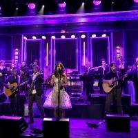 VIDEO: She & Him's Zooey Deschanel & M. Ward Perform 'Stay Awhile' on TONIGHT SHOW