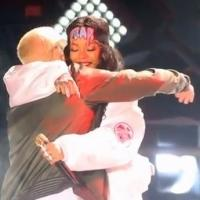 VIDEO: Eminem and Rihanna Perform 'The Monster' on MTV MOVIE AWARDS