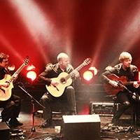California Guitar Trio and Montreal Guitar Trio Play Harris Center Tonight