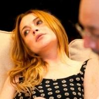 New Look At Lindsay Lohan In Rehearsal For SPEED-THE-PLOW