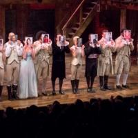 Photo Coverage: HAMILTON Cast Celebrates 40th Anniversary of A CHORUS LINE at the Public!