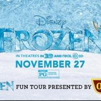 FROZEN Fun Tour Kicks Off 30-Day, Multi-City Tour in Philadelphia Today