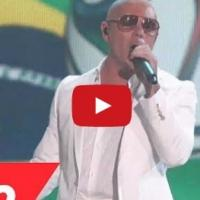 VIDEO: Pitbull ft. Jennifer Lopez Performs 'We Are One (Ole Ola)' at BILLBOARDS