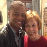 Photo Flash: Cuba Gooding, Jr. Visits Carol Burnett at Broadway's LOVE LETTERS