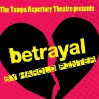 Tampa Repertory Theatre to Present BETRAYAL, 5/7-24