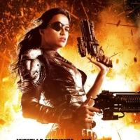Photo Flash: First Look - Michelle Rodriguez in New Poster for MACHETE KILLS