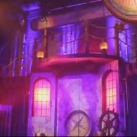 STAGE TUBE: Rome Wasn't Built in a Day - Transforming a Theater for 'AROUND THE WORLD'