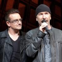 BWW TV: Bono & The Edge Celebrate 1000 Broadway Performances with SPIDER-MAN: TURN OFF THE DARK Cast!