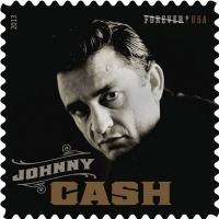 Johnny Cash Inducted Into 'Icons Forever' Stamp Series