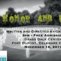 Reedy Point Players to Present IN HONOR AND MEMORY, 11/16 In Honor and Memory