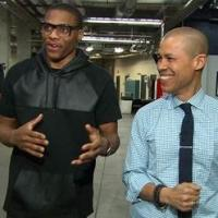 NBA Star Russell Westbrook Visits CBS SUNDAY MORNING Today