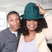 VIDEO:  Pharrell Williams Gets Happy on OPRAH PRIME; Check Out Clips!