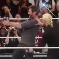 VIDEO: Hugh Jackman Gets RAW on Monday Night