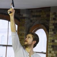 Photo Coverage: ASSASSINS In Rehearsal, Starring Tveit, Parker, McShane and Tate! Photos