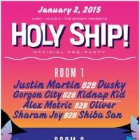 HOLY SHIP! 2015 Announces Official Pre-Parties at Space Miami