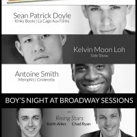 Sean Patrick Doyle, Antoine Smith and Kelvin Moon Loh Set for BROADWAY SESSIONS This Week