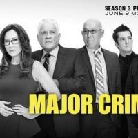 TNT Airs 19-Hour MAJOR CRIMES Marathon in Advance of Tonight's Season 3 Premiere