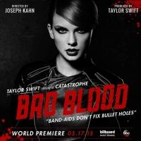 Taylor Swifts New Music Video'Bad Blood' to Open 2015 BILLBOARD MUSIC AWARDS; Poster Art Revealed