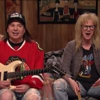 VIDEO: Mike Myers and Dana Carvey Bring WAYNE'S WORLD Back for SNL Special