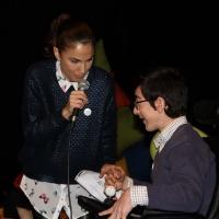 Photo Flash: Toni Acosta amadrina la funci�n ben�fica de 'Laura y el enigma...'