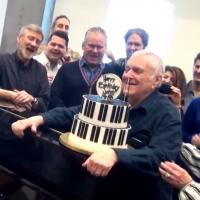 BWW TV: John Kander Blows Out His Birthday Candles in Rehearsal for THE VISIT!