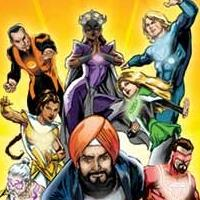 SUPER SIKH AND THE ATMA DEFENDERS Now on Sale