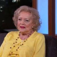 VIDEO: Betty White Explains How She Got a Black Eye on JIMMY KIMMEL