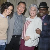 Photo Flash: George Takei, Sara Gilbert, and Billy Porter Visit MOTHERS AND SONS