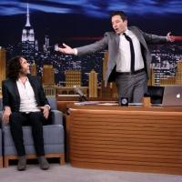 VIDEO: Russell Brand Plays 'Word Sneak' on TONIGHT SHOW