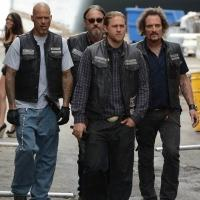 Cast of SONS OF ANARCHY Visits TBS's CONAN Tonight