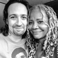 Photo Flash: Tina Fey, Tonya Pinkins, and More Visit HAMILTON