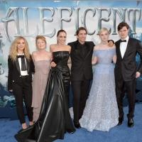 Photo Flash: Angelina Jolie, Brad Pitt & More Attend MALEFICENT's World Premiere