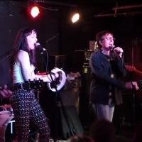VIDEO: HEDWIG's Tits of Clay and Lena Hall Play the Mercury Lounge