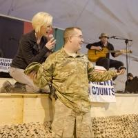Photo Flash: KELLIE PICKLER Celebrates the Holidays with 7th USO Tour in Middle East