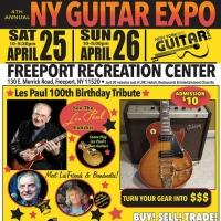 The NY Guitar Show & Expo to Tribute Les Paul's 100th Birthday, 4/25-26
