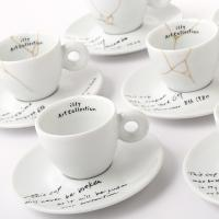 Yoko Ono: MENDED CUPS and UNBROKEN CUP for illy Art Collection Released Today