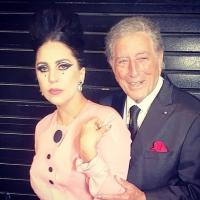 Vegas, Baby! Lady Gaga Posts Backstage Pics With Tony Bennett & Comments On New CHEEK TO CHEEK Tour