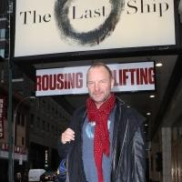 FREEZE FRAME: Sting Announces He's Joining THE LAST SHIP
