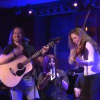 STAGE TUBE: Cast of ONCE Performs Pre-Show Tune 'Red-Haired Mary' at 54 Below