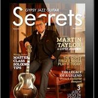 Multi-award Winning Guitarist, Composer, and Educator Featured in Gypsy Jazz Guitar Secrets Magazine