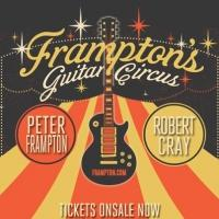 Peter Frampton to Kick Off 'Guitar Circus' Tour in Nashville, 5/28
