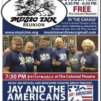 Music Inn and Berkshire Theatre Group to Host Reunion, Jay and the Americans, 10/12