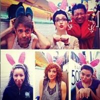 Photo Flash: Saturday Intermission Pics, 4/19- ROCKY, MAMMA MIA, and More Get Into the Spirit of Easter!