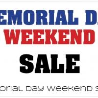 Daily Deal 5/26/13: Memorial Day Weekend Sales
