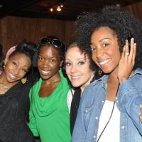 Exclusive Photo Coverage: In the Recording Studio with MOTOWN Cast for Carols for a Cure!