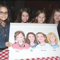 Photo Coverage: MATILDA's Leading Ladies Get Surprise Portrait at Sardi's