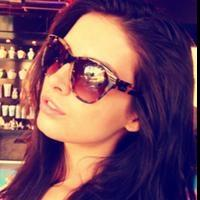 Model and Actress Brittany Brousseau Featured Wearing Reeva Sunglasses