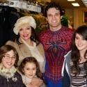 Photo Flash: Joan Collins Visits SPIDER-MAN!