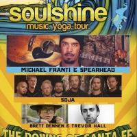 Music at The Downs to Debut with Michael Franti & Spearhead's Soulshine Tour, Today