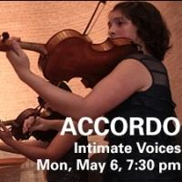 Northrop to Welcome ACCORDO: INTIMATE VOICES to MN, 5/6